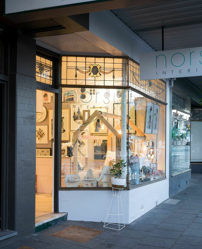 The exterior of Norsu Interiors in Malvern East, VIC.