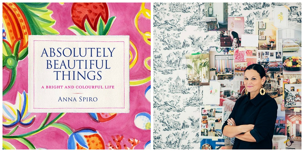 Interior Designer, Anna Spiro and her new book, Absolutely Beautiful Things. Images via Temple & Webster.
