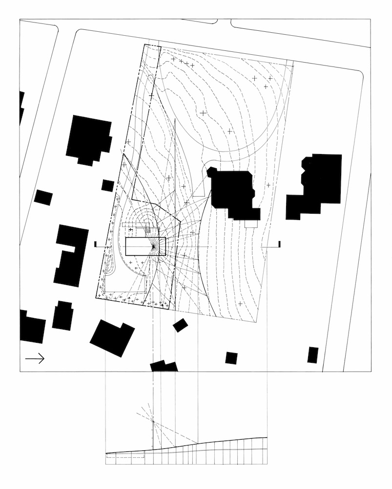 SITE PLAN    © Parabola Architecture