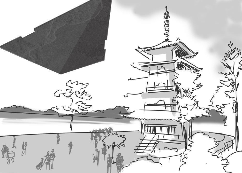 Destroyer over Pagoda.jpg