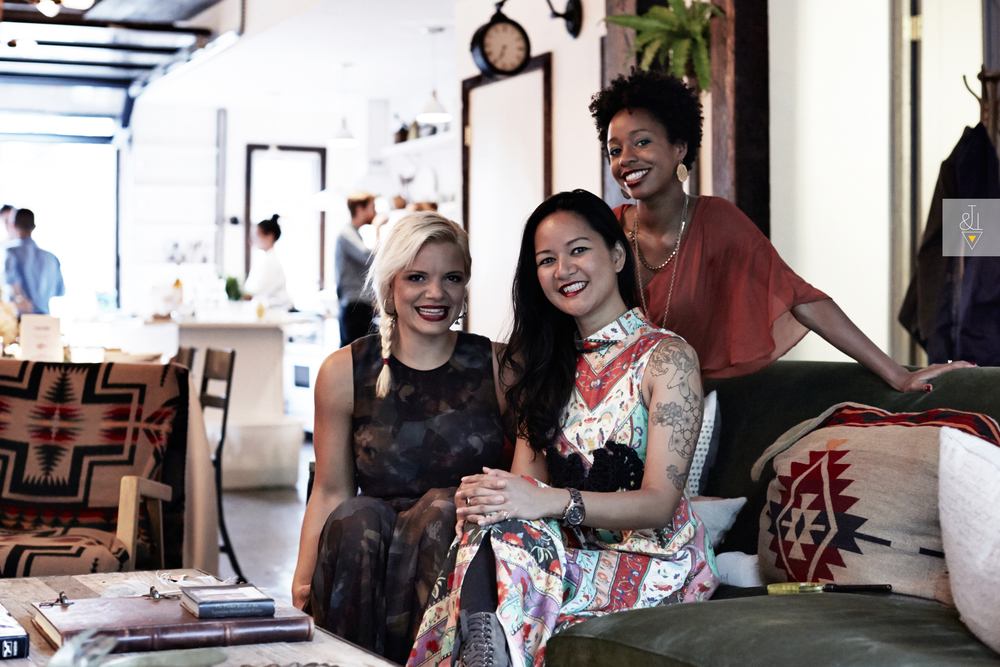 The Founding Partners: Liz Castelli,Adette Contreras,and Erica Taylor.