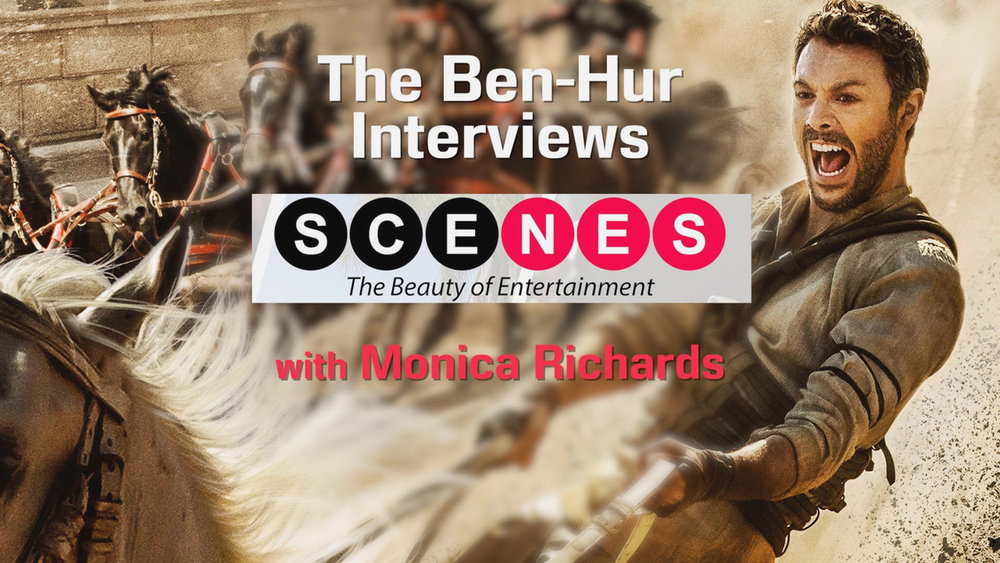 HOST: 'BEN-HUR' PRESS JUNKET + MOVIE REVIEW
