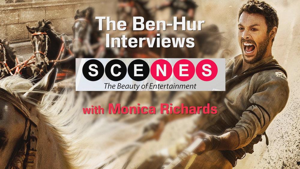 VIDEO: 'BEN-HUR' PRESS JUNKET + MOVIE REVIEW