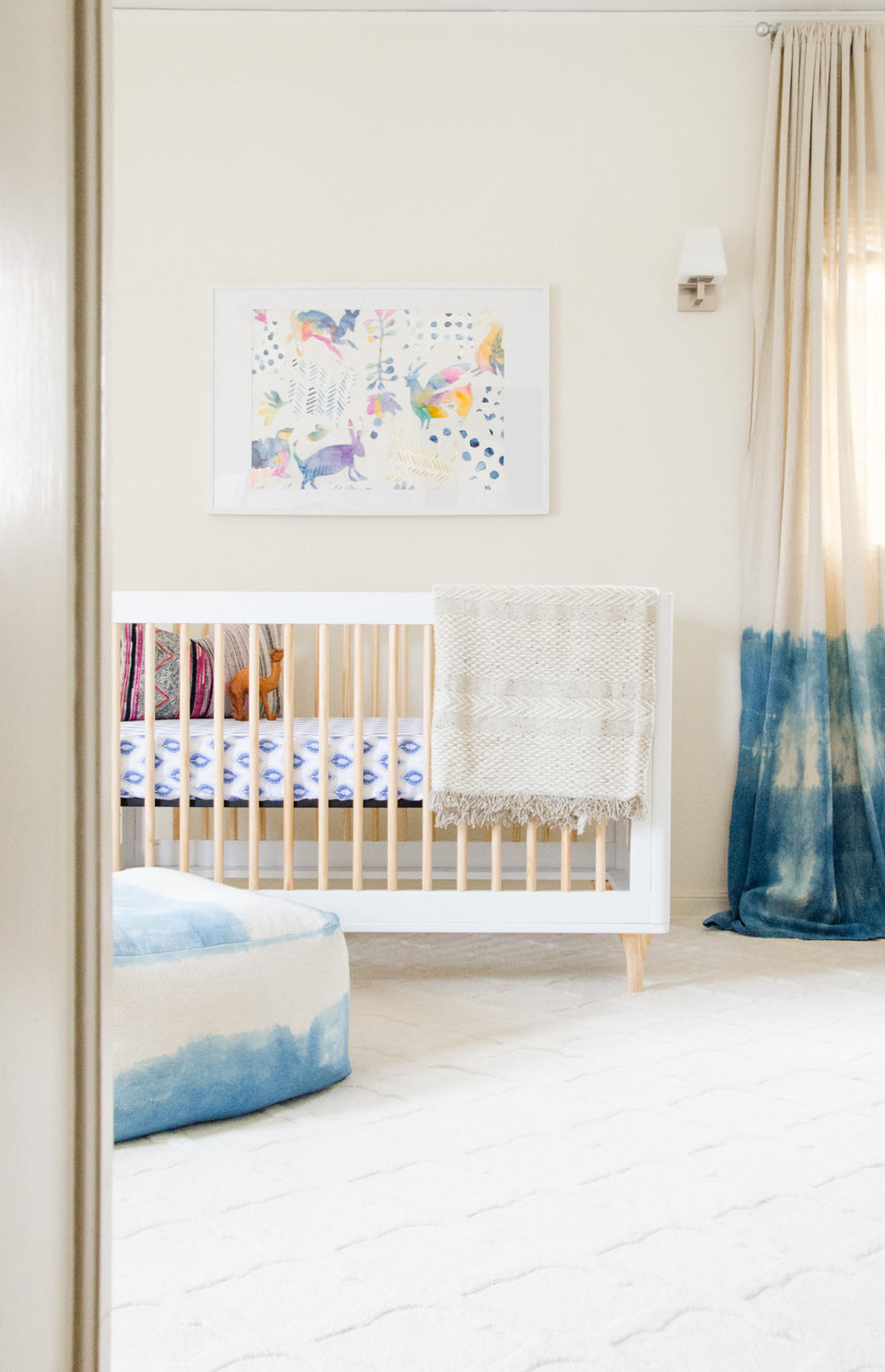 MODERN INDIGO NURSERY TOUR | DEN MOTHER BLOG