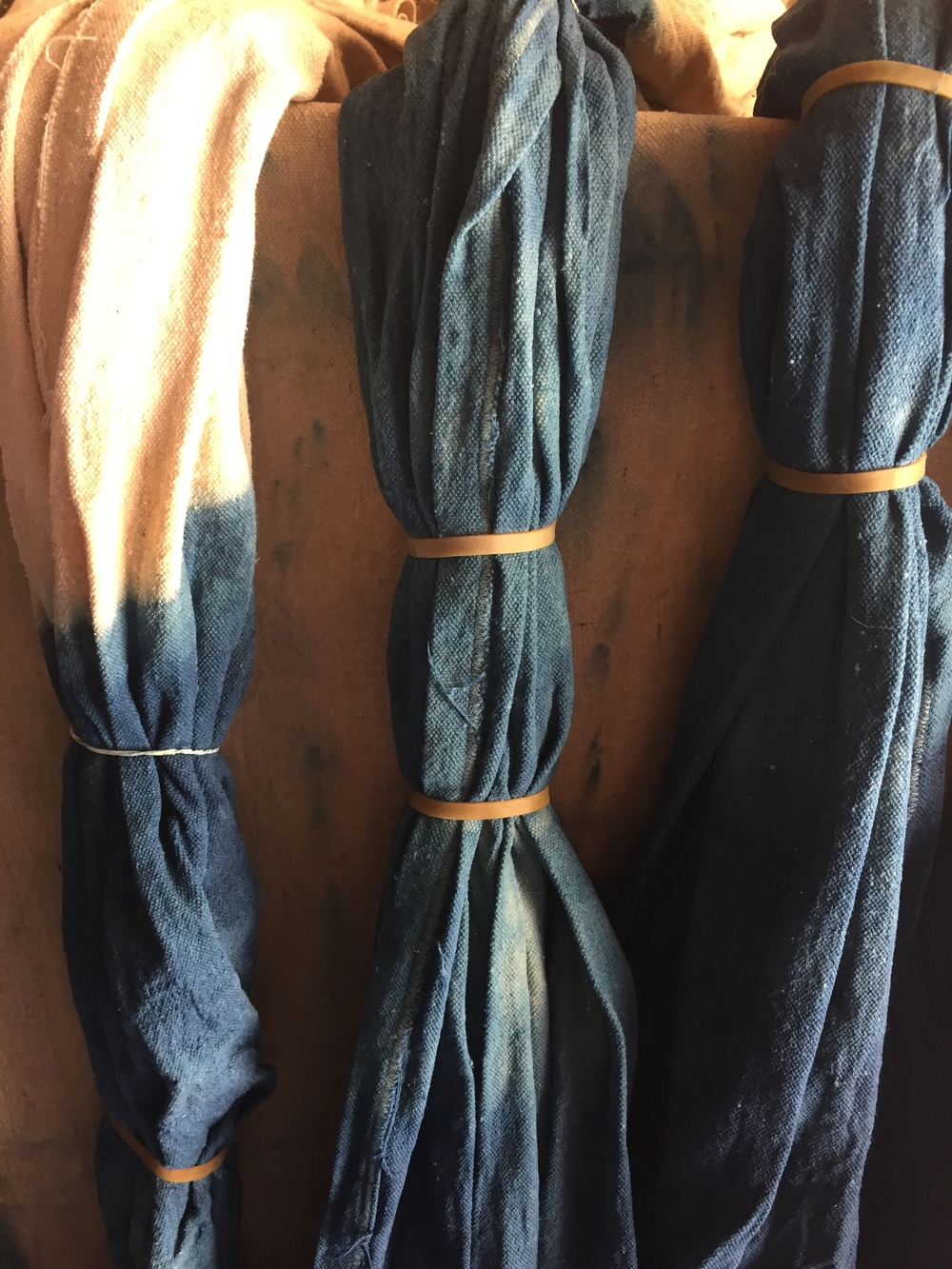 INDIGO DYED CURTAINS | DEN MOTHER BLOG