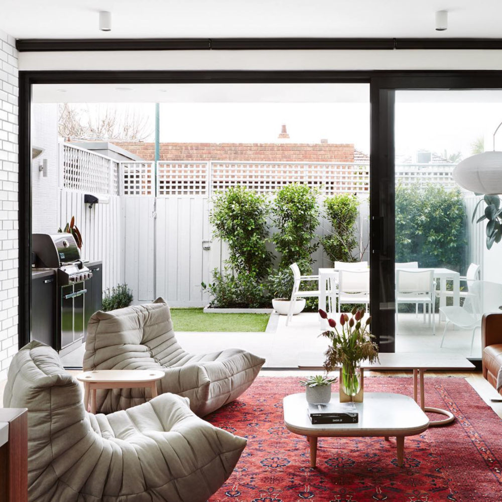One of the stylish homes you'll find featured by @thedesignfiles