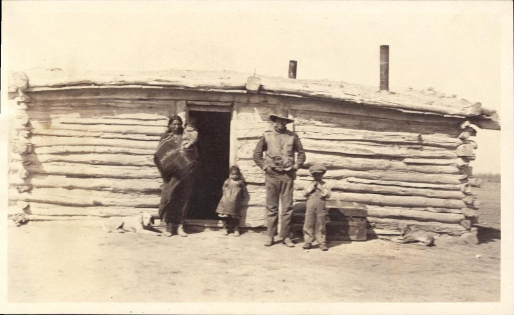 "House of ""Guy Good Voice Flute,"" Bureau of Indian Affairs, Pine Ridge Agency"