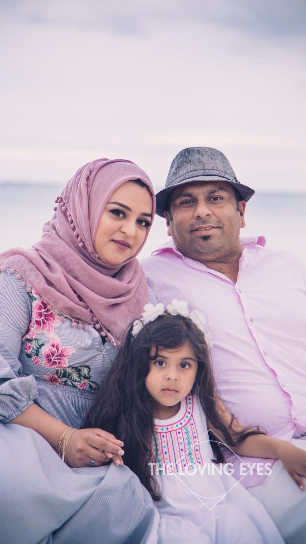 Family vacation photography on the beach at Ala Moana Beach Park
