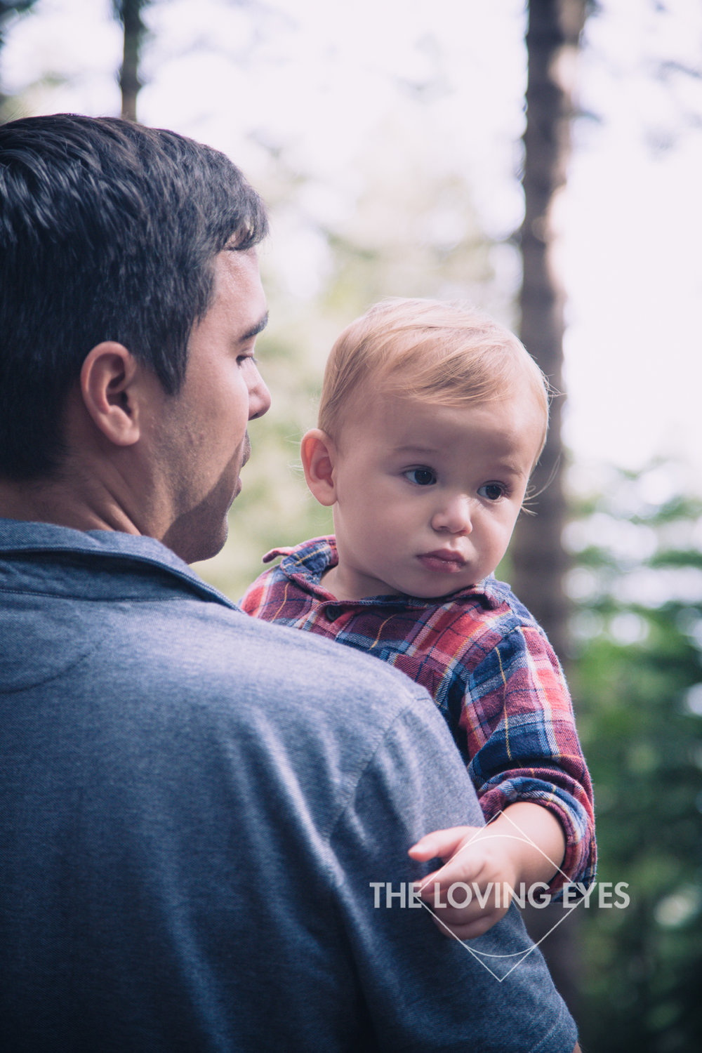 Father and Son Portrait in Hawaii