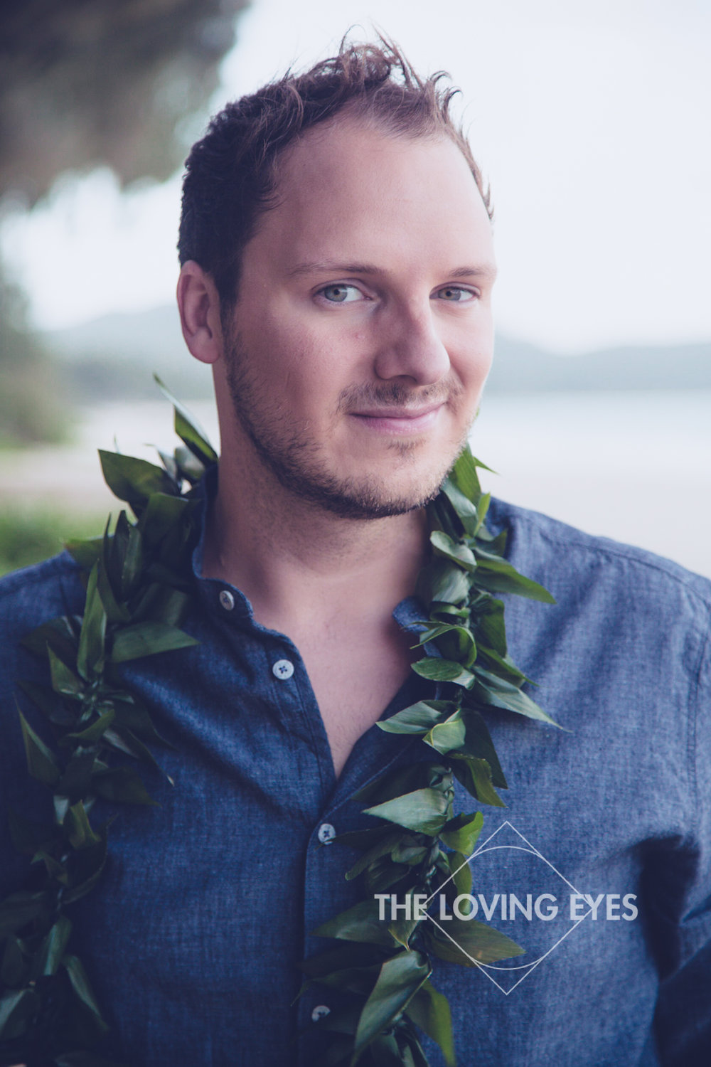 Casual elopement on the beach in Hawaii