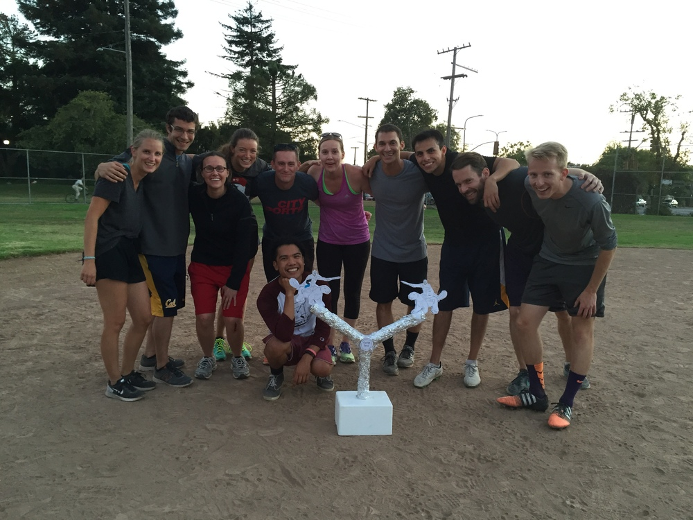 The winners of the first ZLab-IGI CasTor Bowl, Berkeley Aug 31st 2015