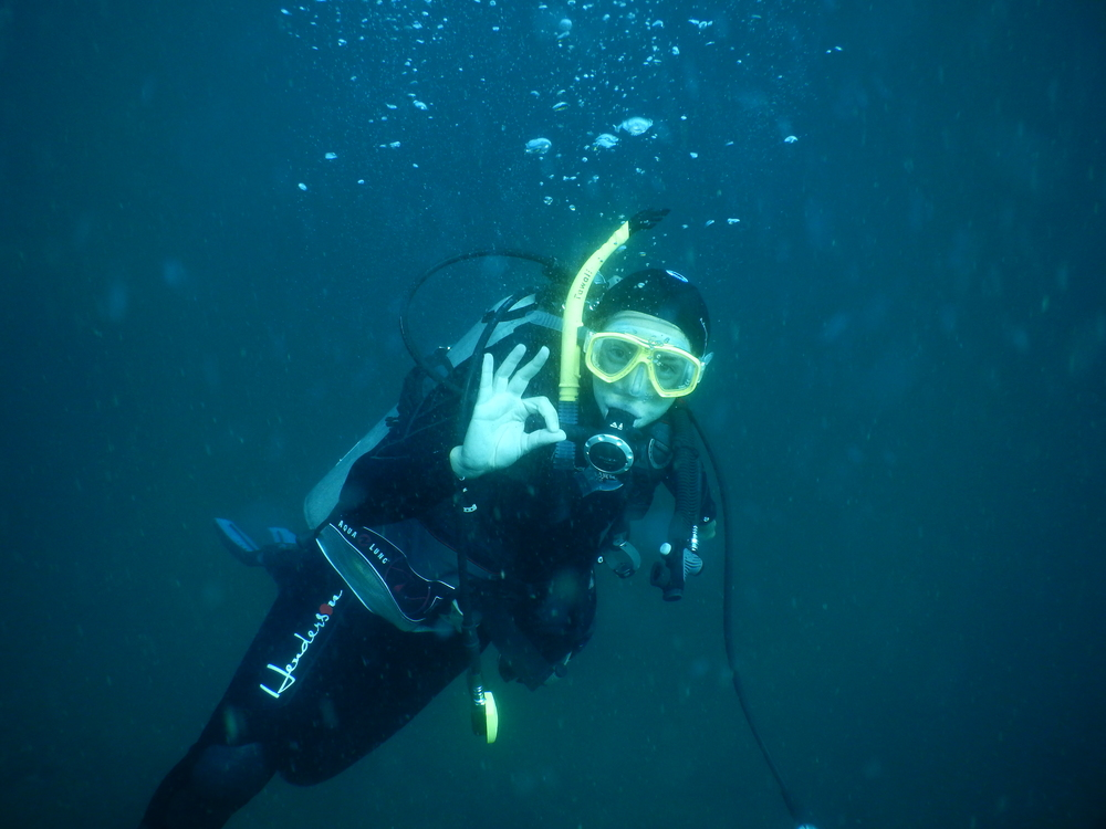 barbara, marine biologist, scuba diving