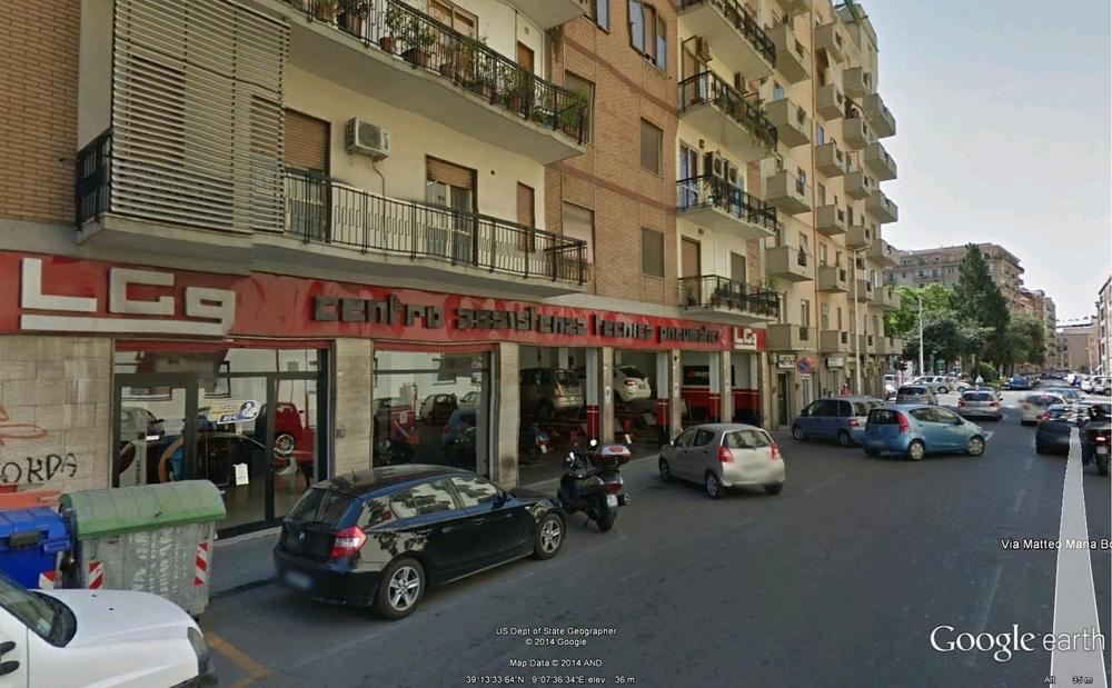LGg La Genovese gomme gommista Cagliari Via Boiardo