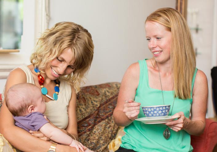 Newborn Mothers online postpartum training