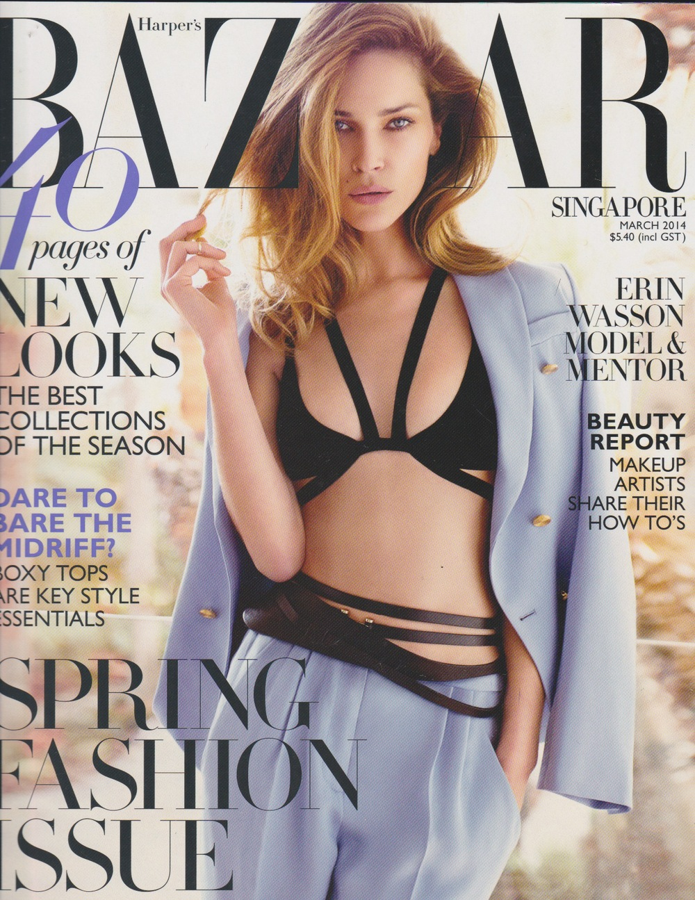 erin wasson      harper's bazaar singapore   march 2014
