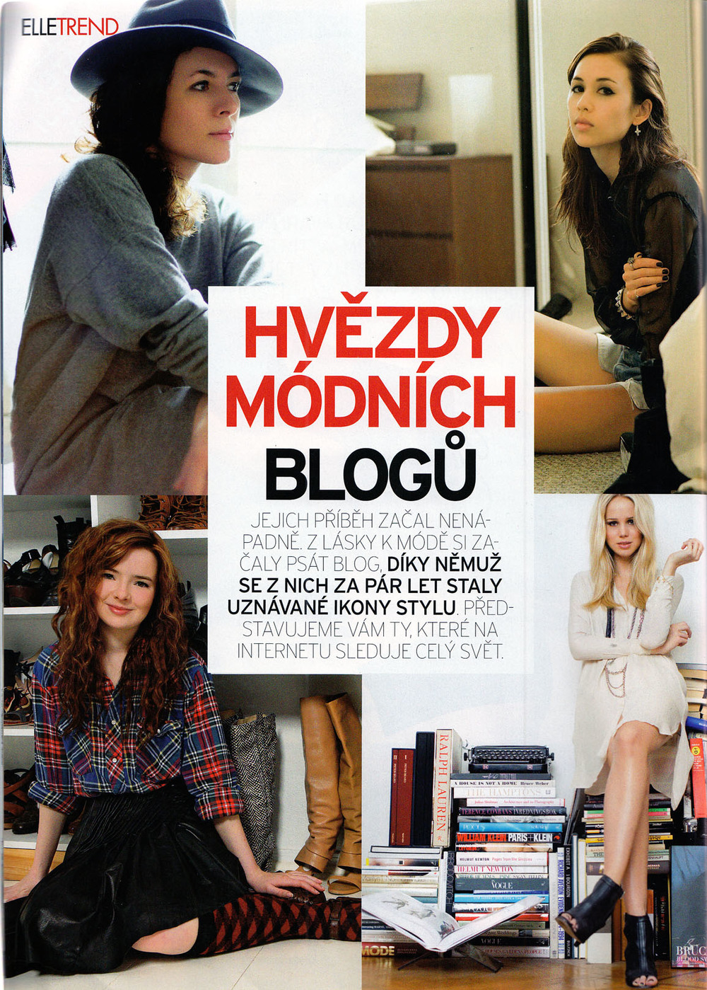 TOP FASHION BLOGGERS ELLE CZECH REPUBLIC