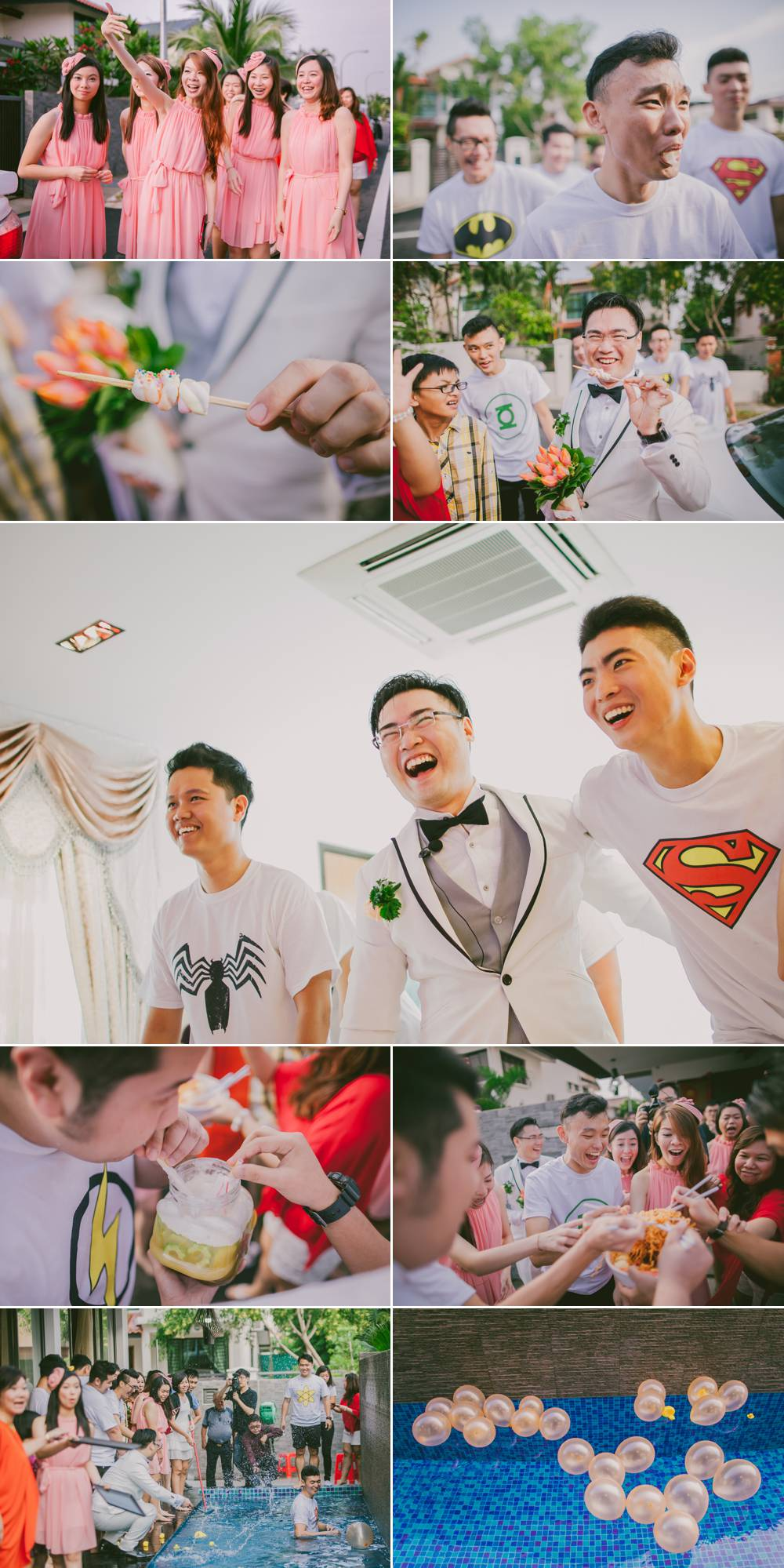 Wedding Photography Singapore Touchstudios Gate crashing