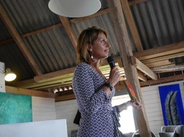 Maria Borelius, kvällens talare