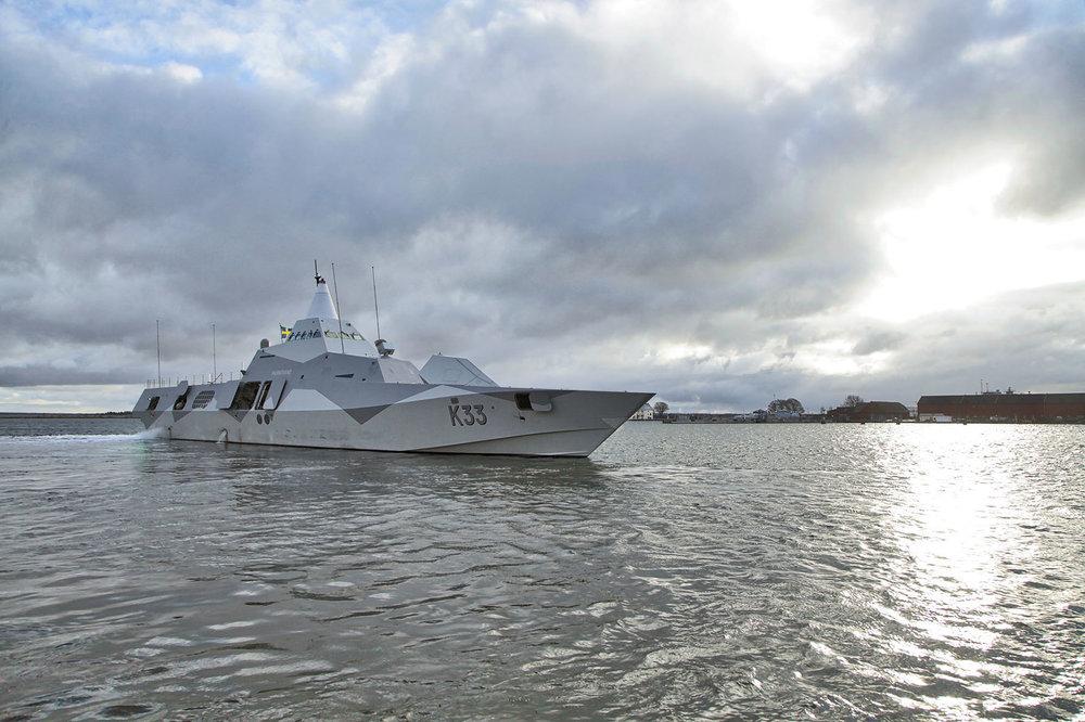 Situationen med ytstridsfartygen är bekymmersam. Foto: Försvarsmakten.