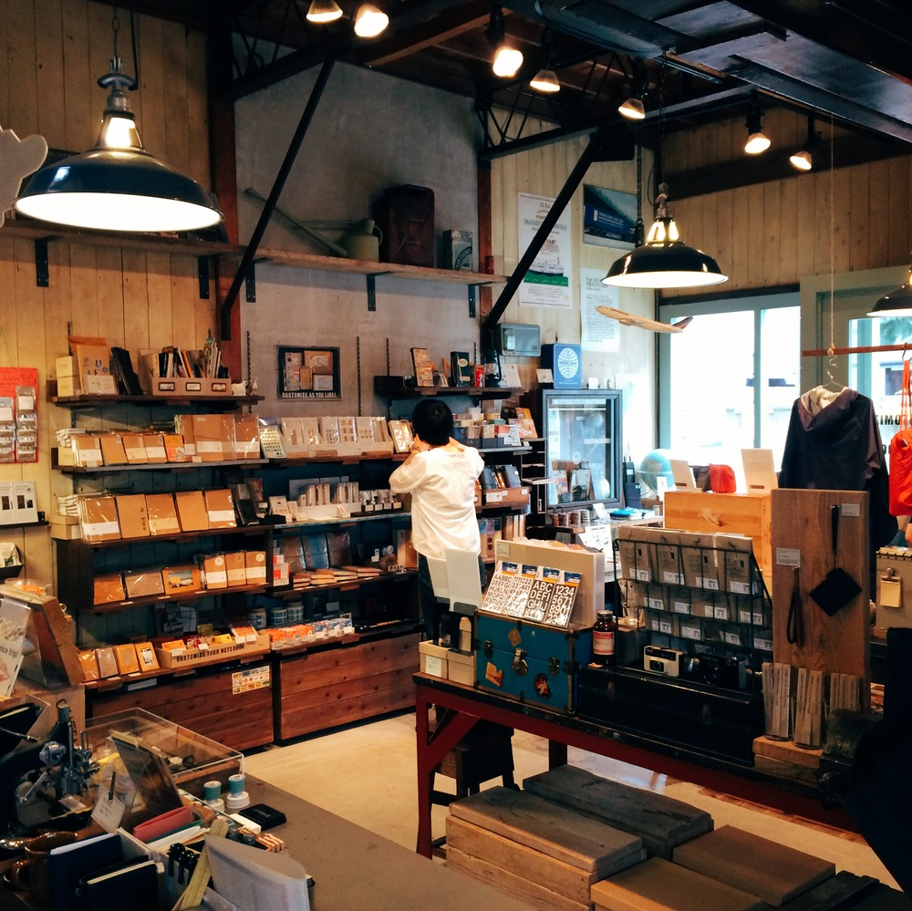 Traveler's Factory, Tokyo, 2015.