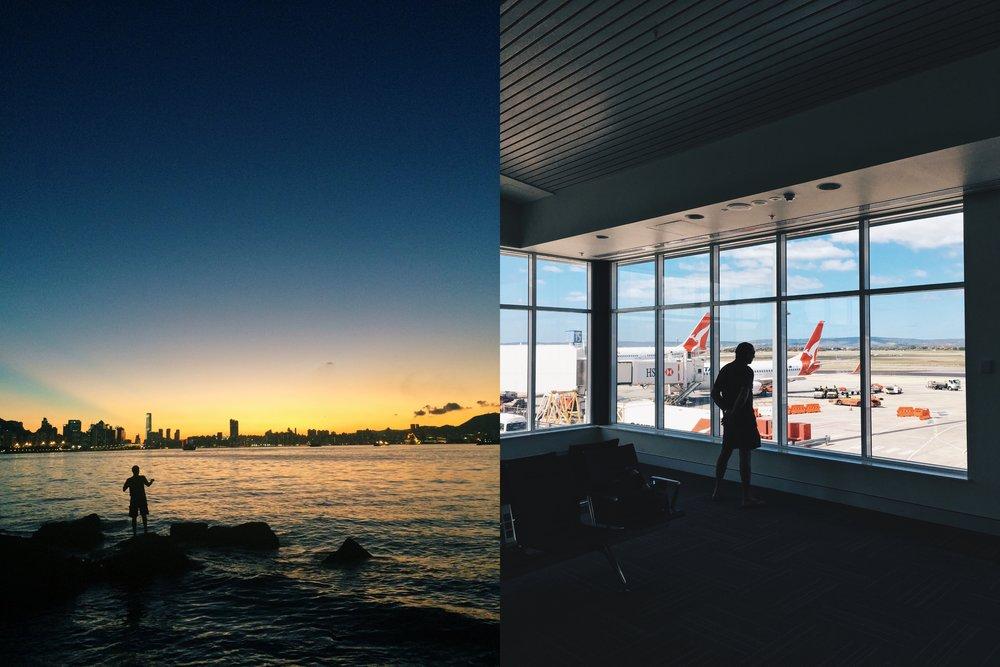 My world (Hong Kong and Perth, Australia)