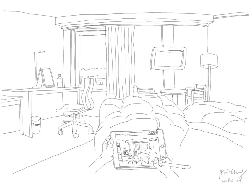 京都的一間酒店,2018