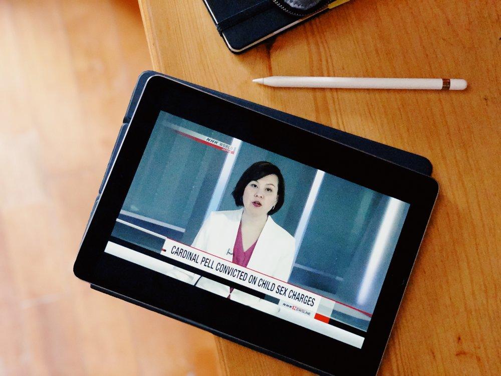 NHK World是其中一個學英語的渠道,甚至了解世界時事和日本社會文化。