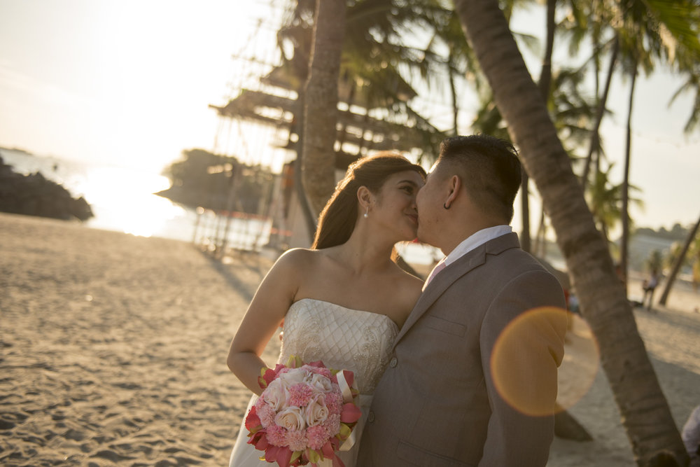 Beach Wedding Sunset