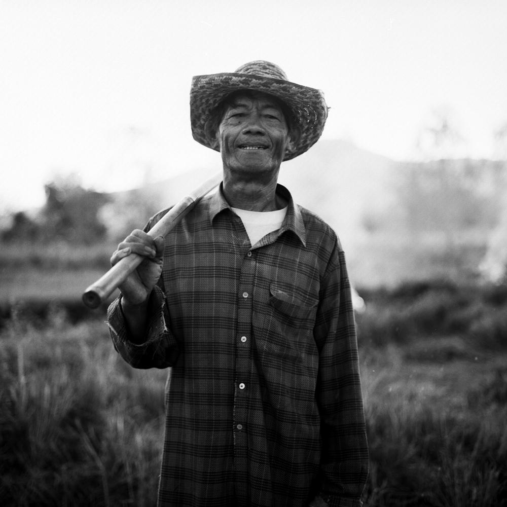 Farmer, Thailand. 2014