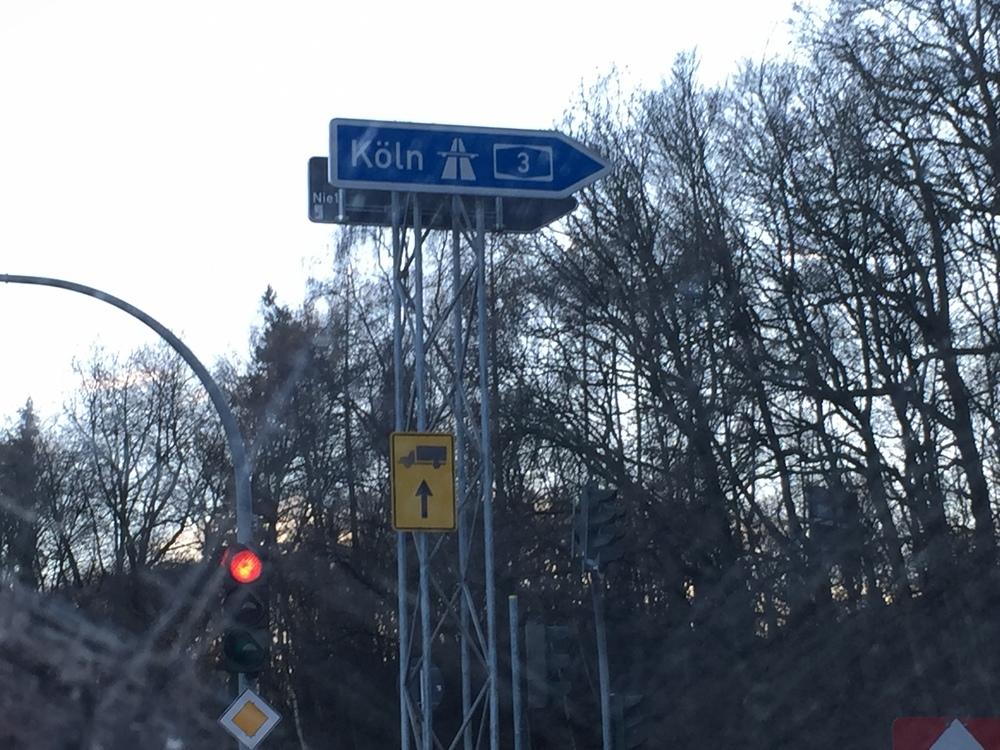Autobahnauffahrt Niedernhausen