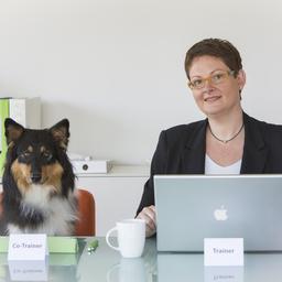 Annette Lipfert mit Co-Trainer Lina