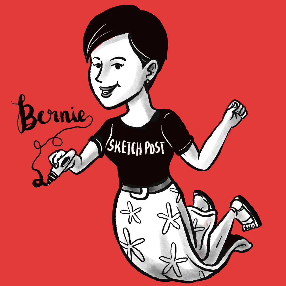 Bernie Quah - Founder, Graphic Recorder