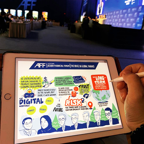 DIGITAL GRAPHIC RECORDING -