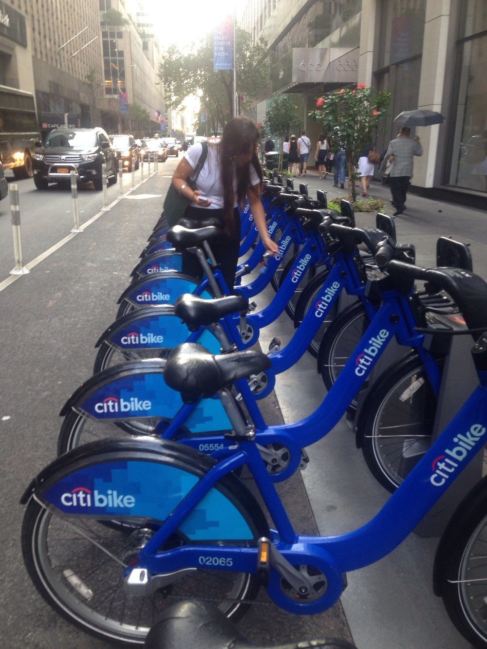 None of these CitiBikes were functioning, P.S.