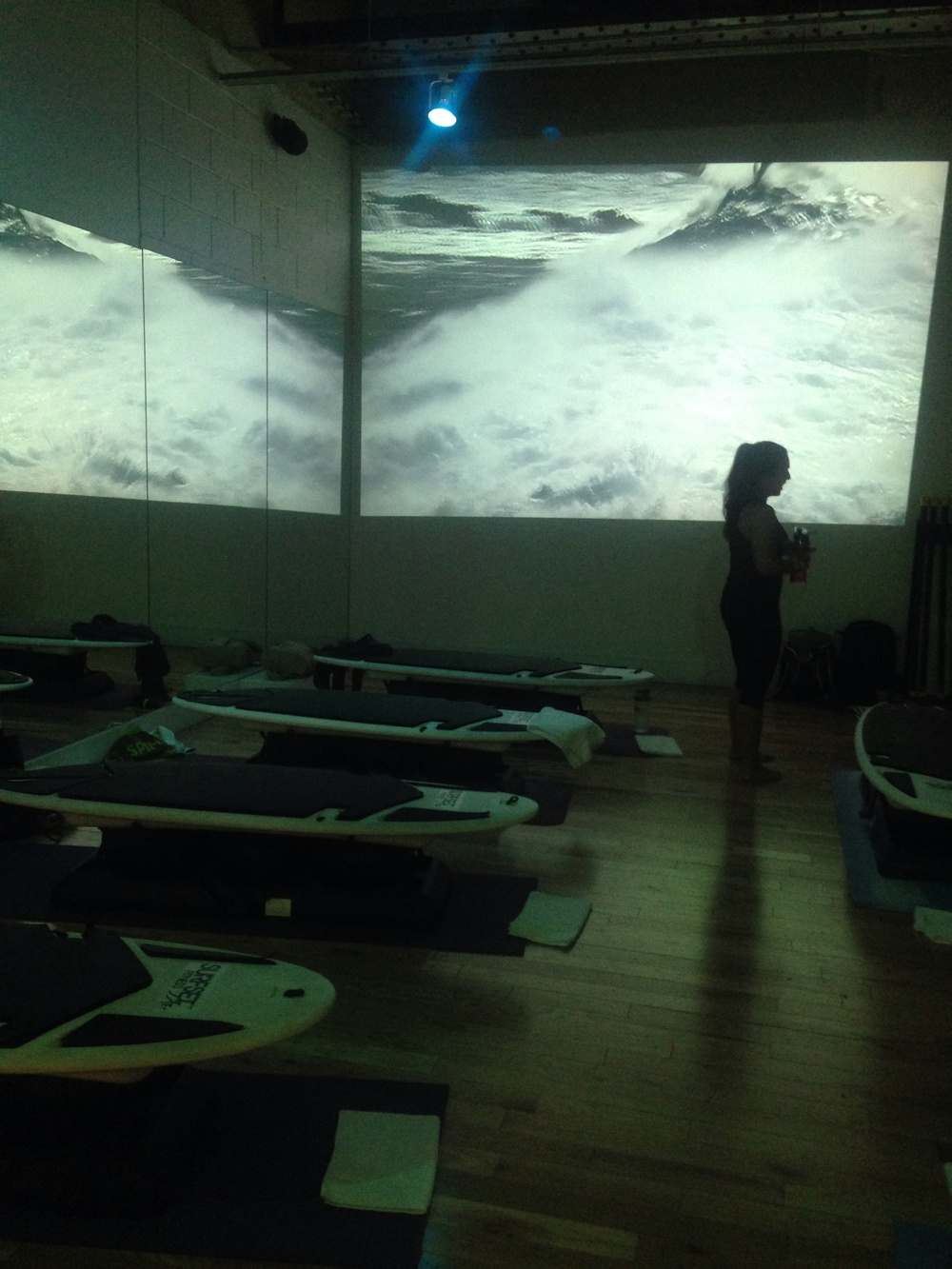 8 hours of Surfset. The Sports Center at Chelsea Piers.