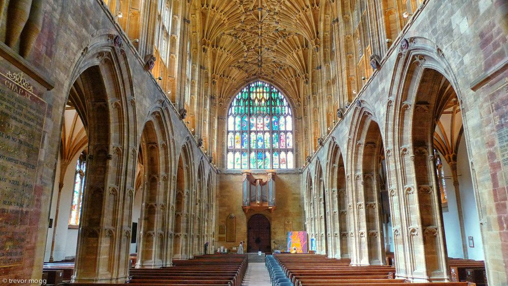 Sherborne Abbey, UK.