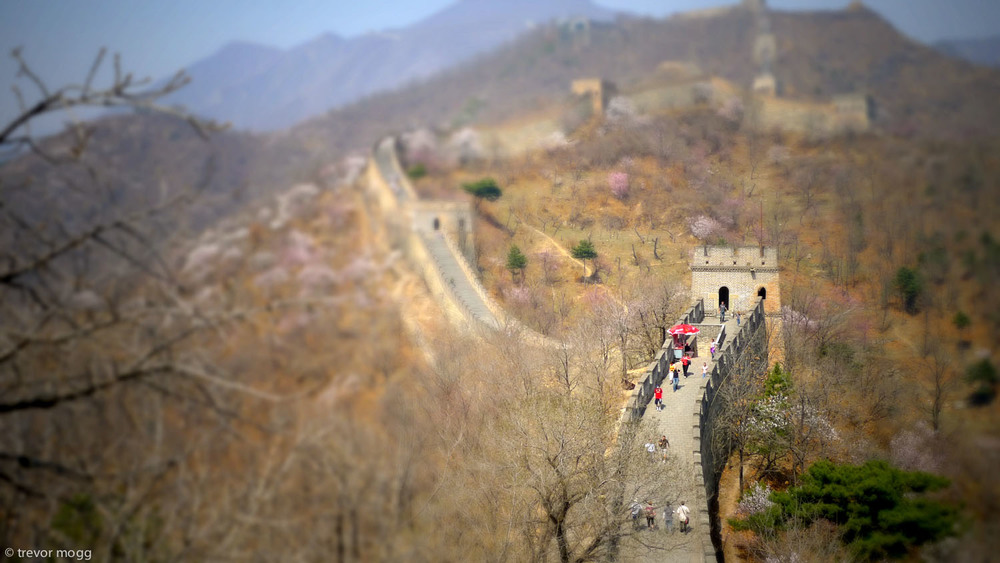 Great Wall, China.