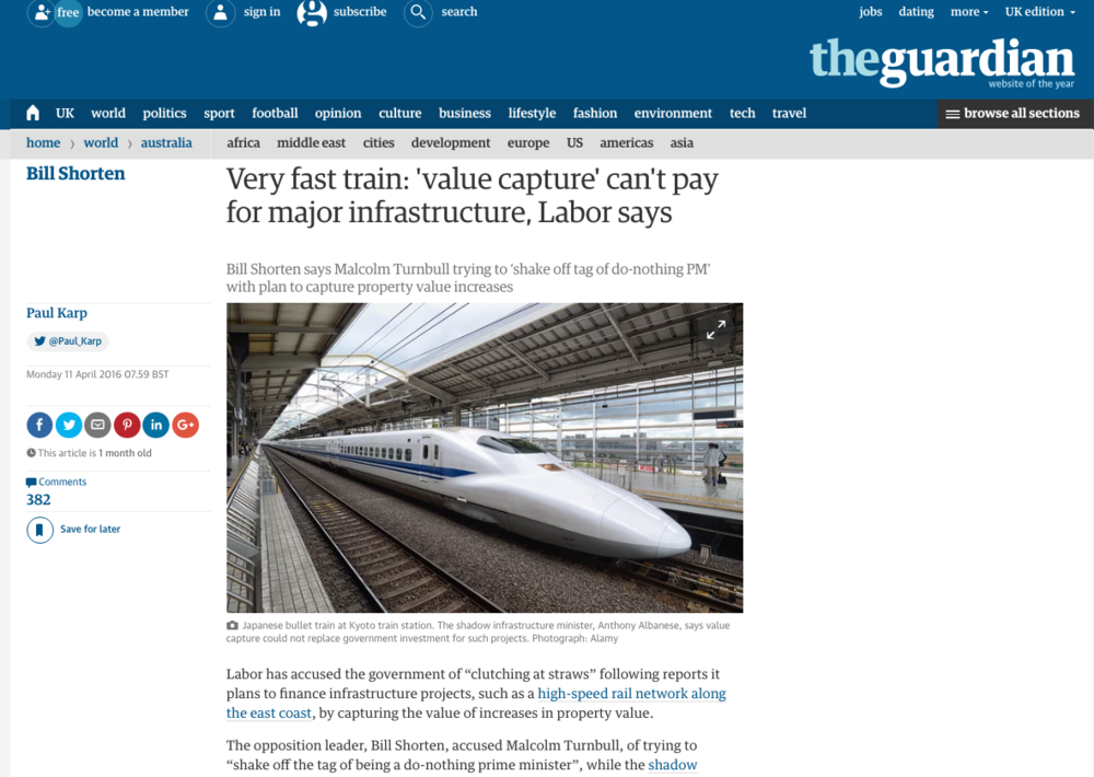 guardian - apr2016 - bullet train.jpg