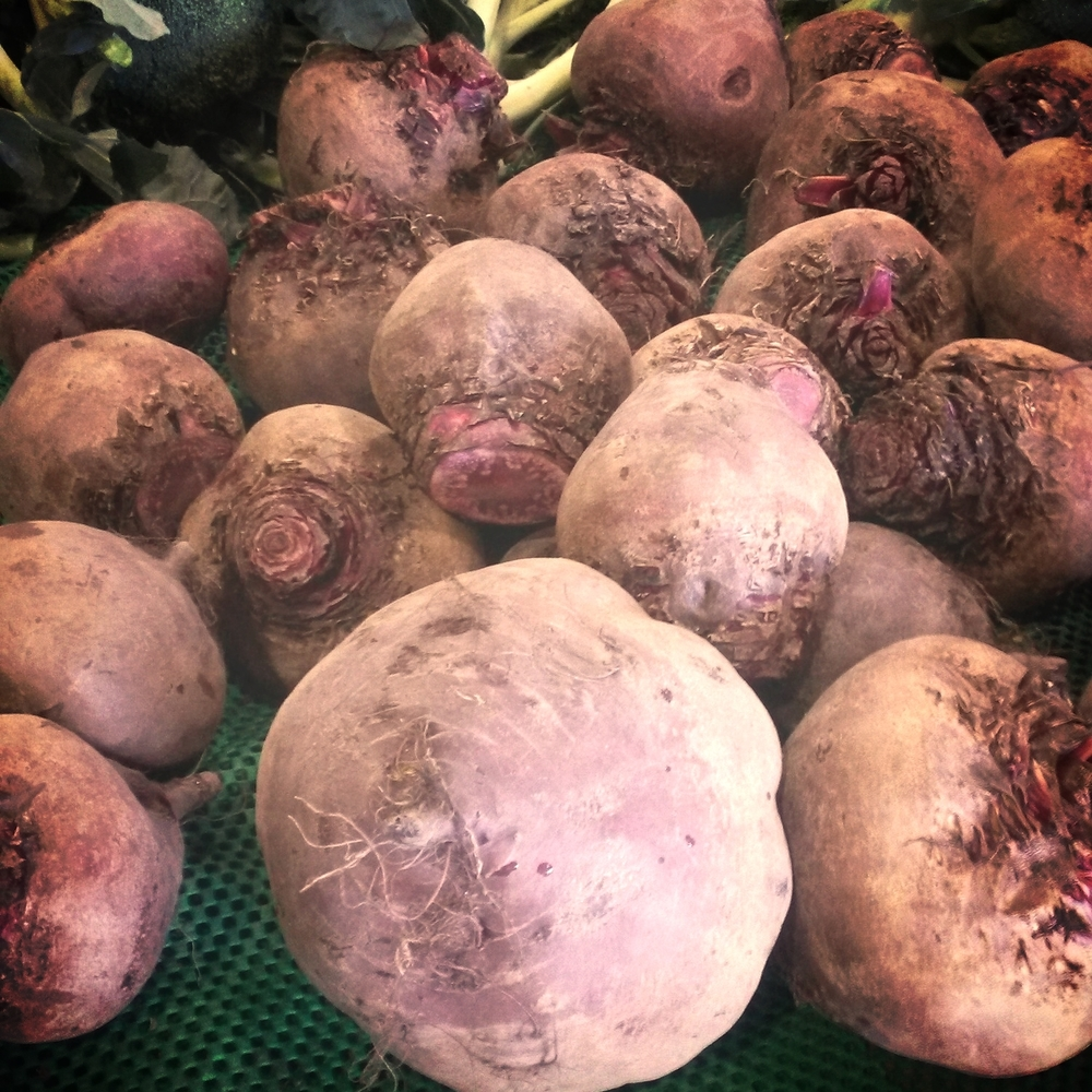 Some hugeee beetroots spied at the fruit & veg shop lately!