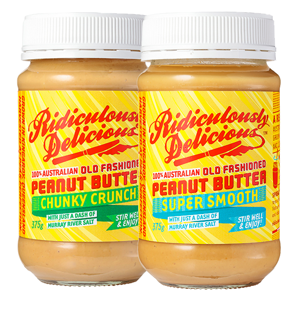 Ridiculously Delicious Old Fashioned Peanut Butter Where: IGAs and specialty grocers - see website for a list of stockists, or to buy online Status: Palm Oil Free Also: All Australian ingredients, Australian made & owned