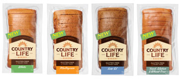 Country Life Bread (all varieties) Where: Most Supermarkets Status: Palm Oil Free Also: Gluten free