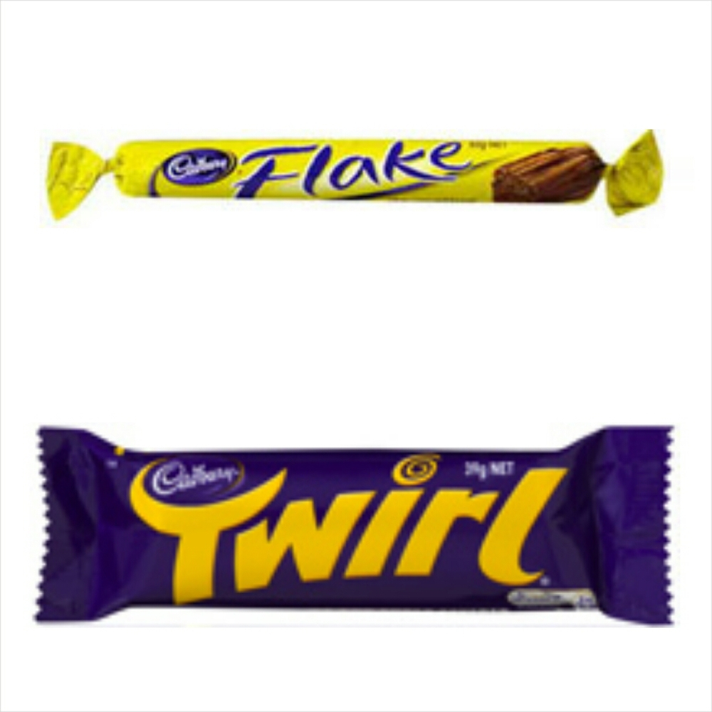 Flake & Twirl Where: Everywhere! Status: Palm Oil Free