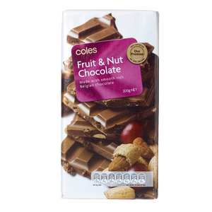 You'll Love Coles Chocolate Blocks (all, except mint) Where: Coles Supermarkets Status: Palm Oil Free