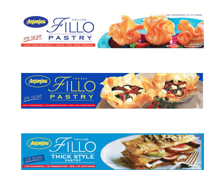 Antoniou Fillo Pastry (all varieties) Where: Most Supermarkets Status: Palm Oil Free Also: Australian made & owned