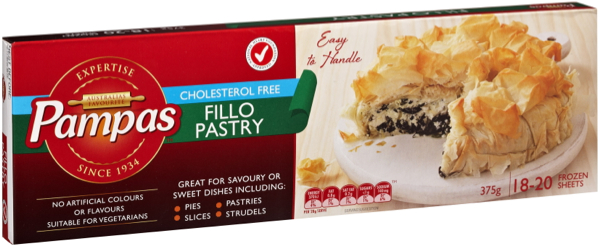 Pampas Fillo Pastry Where: Most Supermarkets Status: Palm Oil Free