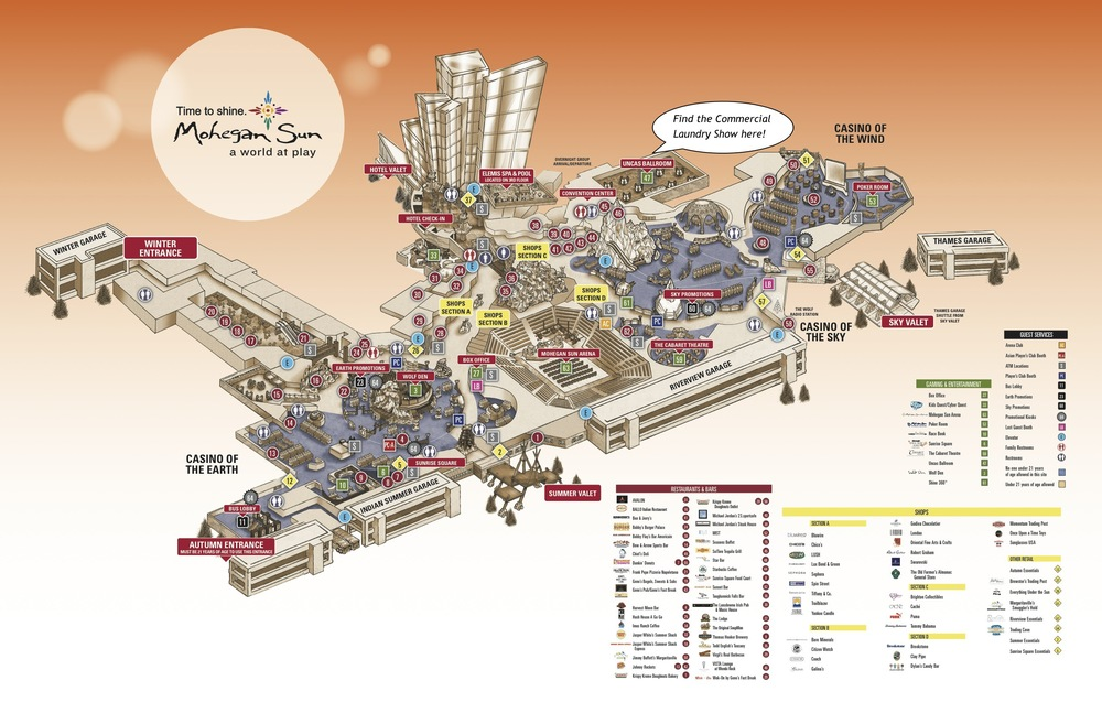 Map Of Mohegan Sun Map Of Mohegan Sun | compressportnederland Map Of Mohegan Sun