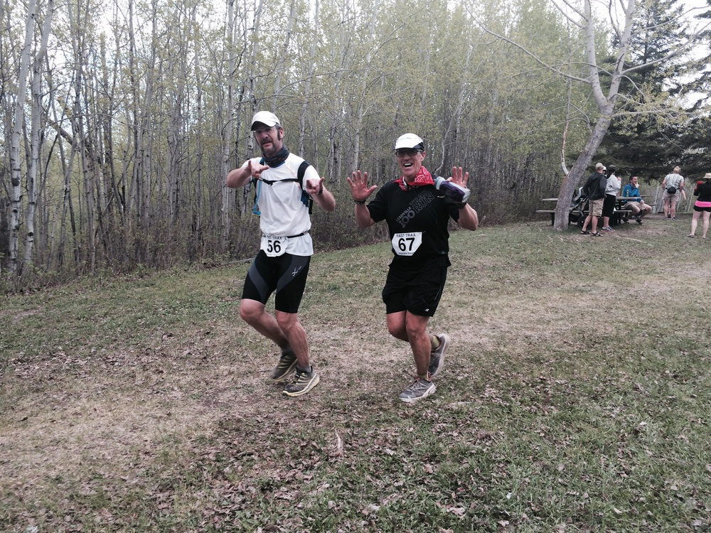 Wade jarvis and Rundle Williamson finish the hundo