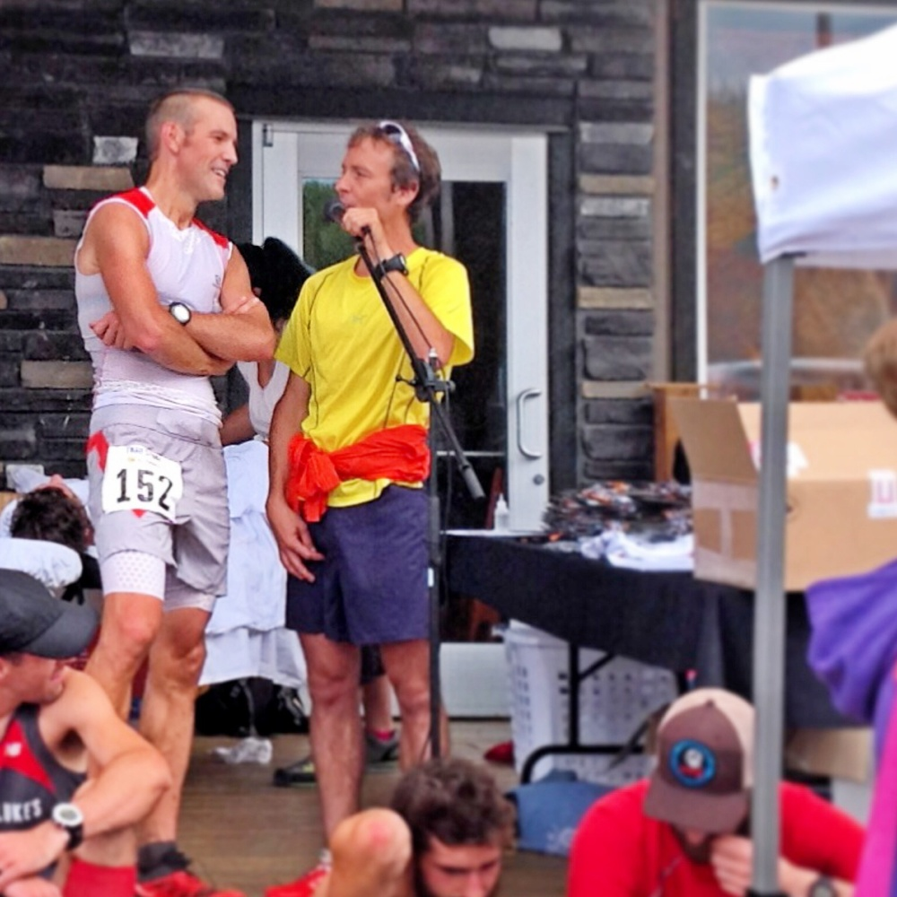 Post race interview with Adam Campbell