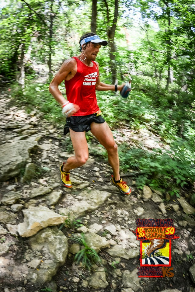 Zach Bitter, elite ultra runner who uses a HFLC approach. Picture taken from his blog at:   http://zachbitter.com/