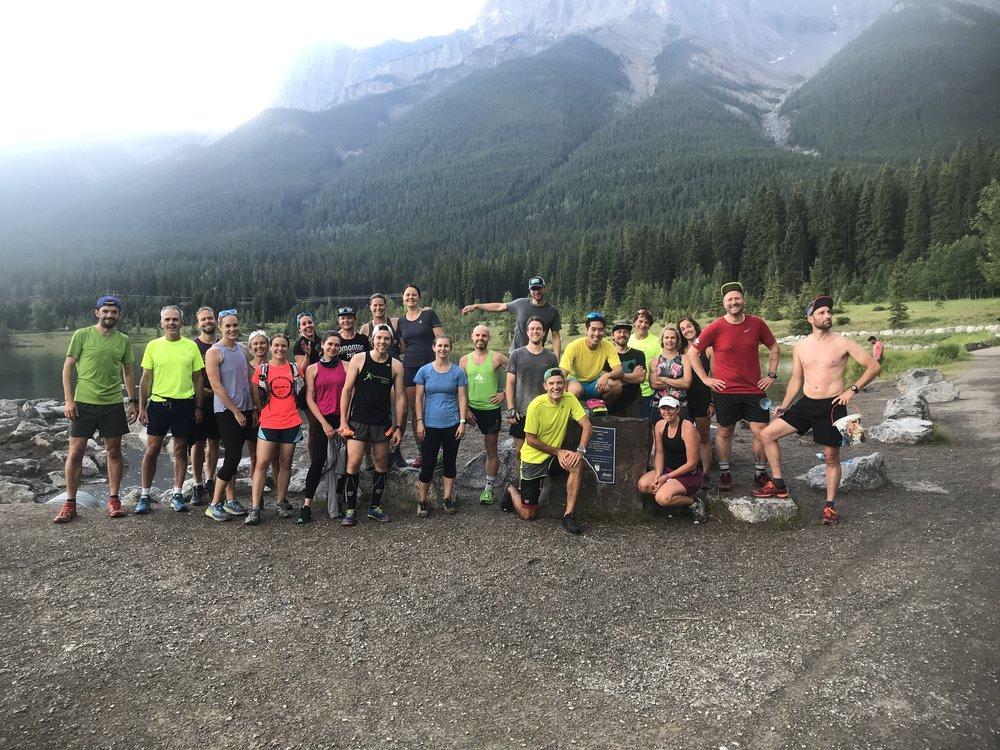 Dirtbagrunners Bow Valley continues to be a regular Thursday night fixture.